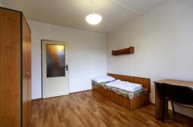 Pokoj na vysokoškolské koleji v Ústí nad Labem