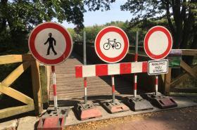Uzavřená cyklostezka