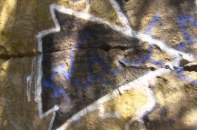 Graffiti na Prachovských skalách