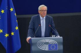 Projev předsedy Evropské komise Jeana-Clauda Junckera v Evropském parlamentu