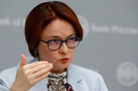 Guvernérka ruské centrální banky Elvira Nabiullinová