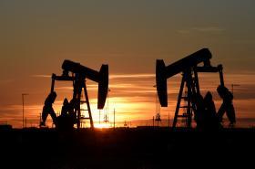 Těžba ropy v Texasu