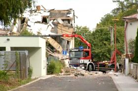 Výbuch plynu v Mostkovicích