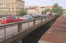 Most v Zábrdovické ulici v Brně