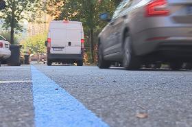 Modré čáry začaly v Brně platit před měsícem