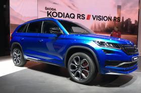 Škoda Auto představila v předvečer pařížského autosalonu SUV Kodiaq RS.