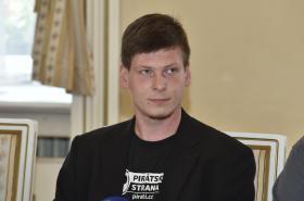 Lídr České pirátské strany v Brně Tomáš Koláčný