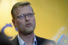 Neúspěšný senátoský kandidát Pavel Bělobrádek /KDU-ČSL/