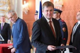 Miloš Zeman a Tomáš Petříček