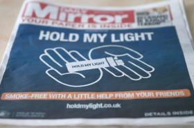 Obálka Daily Mirror