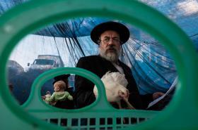 Z výstavy Israeli street moments v pražské Leica Gallery