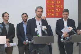 Budoucí pražský primátor Zdeněk Hřib představuje priority koalice