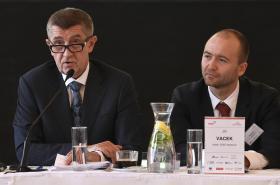Premiér Andrej Babiš představuje Národní investiční plán