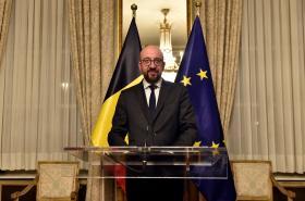 Belgický premiér Charles Michel