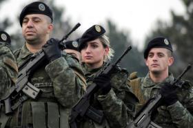 Přehlídka Kosovských bezpečnostních sil