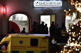 Policisté zasahují v bance v Příbrami