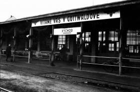 Vlakové nádraží Gottwaldov