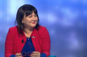 Ministryně financí Alena Schillerová hostem pořadu Události, komentáře