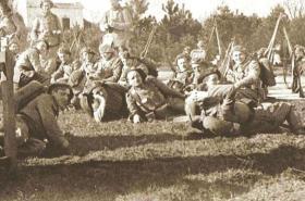 Legionáři z Francie v bojích o Těšínsko