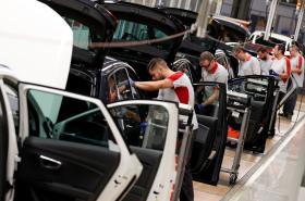 Výroba automobilky Seat ve Španělsku
