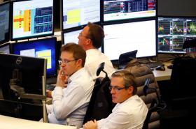 Frankfurtská burza v den hlasování o brexitové dohodě