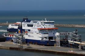 Přístav v Calais