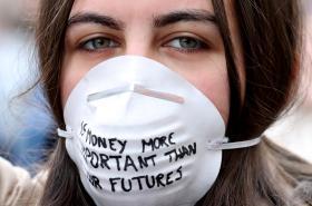 Studenti ve čtvrtek demonstrovali v centru Bruselu kvůli klimatickým změnám
