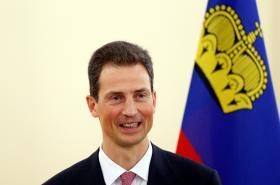 Dědičný princ Alois z Lichtenštejna