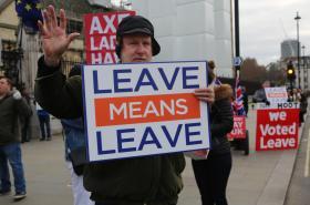Zastánci odchodu Británie z EU