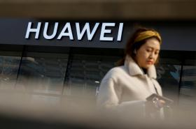 Prodejna Huawei v Pekingu