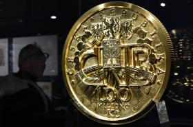 Z výstavy 100 let československé koruny