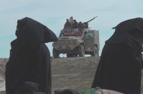 Žey džihádistů v uprchlickém táboře