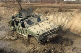 Vozidlo Perun 4x4 pro speciální jednotku Armády ČR
