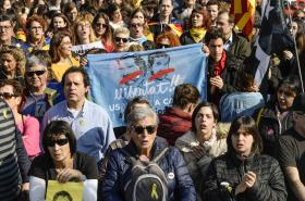 Stávka v Katalánsku