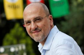 Novinář a turecký poslanec Ahmet Sık