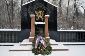 Pomník československých legionářů v ruském Jekatěrinburgu