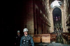 Notre-Dame po požáru