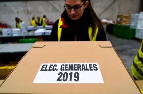 Příprava na španělské volby