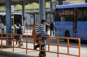 Autobusové nádraží v Uherském Hradišti