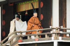Odcházející japonský císař Akihito