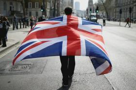 Aktivisté v Británii
