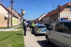 Policie zasahuje v Dražůvkách