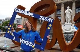Volební atmosféra v Berlíně