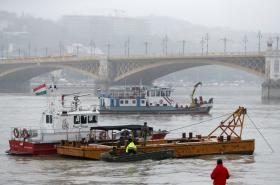 Záchranné operace na Dunaji