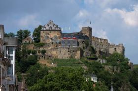 Zřícenina hradu Rheinfels