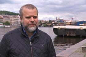 Předseda Asociace Dunaj-Odra-Labe Jan Skalický