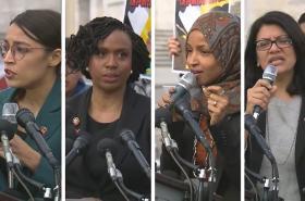 Čtveřice kongresmanek, které kritizoval Donald Trump