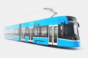 Návrh nové ostravské tramvaje ForCity Smart