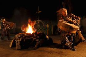 Šaman z ruské Sibiře