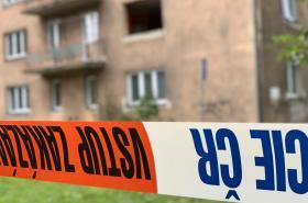Bytový dům v Karviné po výbuchu plynu